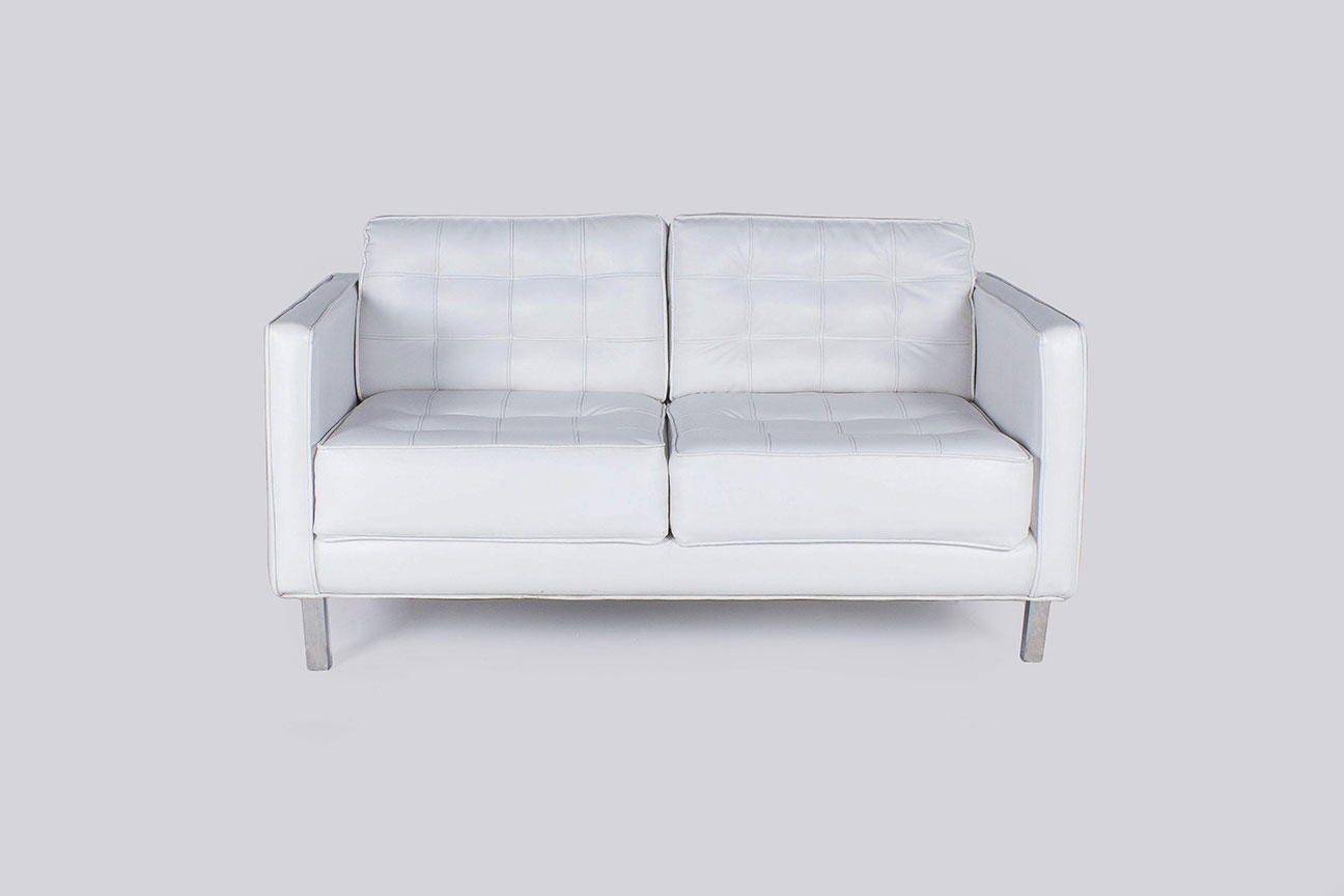 White-Modern-Tufted-2-Seater-Sofa-1-OP - Moss Manila